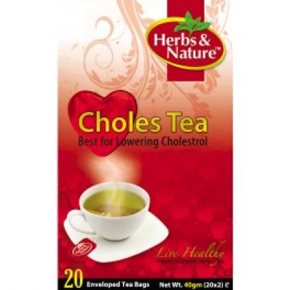 Choles Tea - 20 Sachet Box (40G)