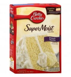 Betty Crocker Super Moist Cake Mix - French Vanilla