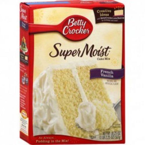 Betty Crocker Super Moist Cake Mix - French Vanilla - Home ...