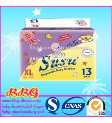 Susu Diapers Value Pack Xl (13Pcs)