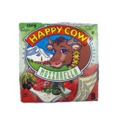 Happy Cow Mozzarella Cheese Slice
