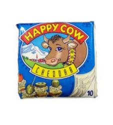 Happy Cow Cheddar Cheese Slice