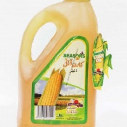 Seasons Corn Oil Bottle (3Ltr)