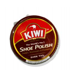 KIWI SHOE POLISH DARK TAN (90ML)