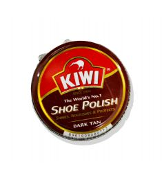 KIWI SHOE POLISH DARK TAN (45ML)
