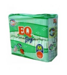 Eq Diapers Dry - Medium (54 Pcs)