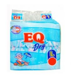 Eq Diapers Dry - Large (72 Pcs)