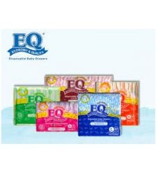 Eq Diapers Dry - Small (60 Pcs)