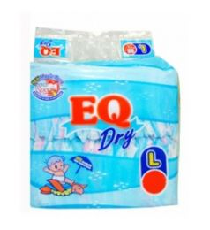 Eq Diapers Dry - Large (48 Pcs)