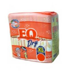 Eq Diapers Dry - Xl (60 Pcs)