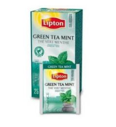 Lipton Grean Tea Bag - Mint (25 Sachet Pack)