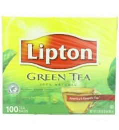 Lipton Green Tea - Plain (100G)