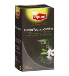 Lipton Green Tea Bag - Jasmine (25 Sachet Pack)