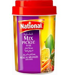 National Hyderabadi Mix Pickle - Jar (1Kg)