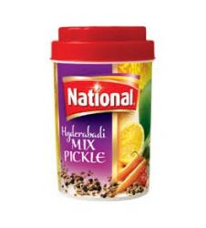 National Hyderabadi Mix Pickle (310G)