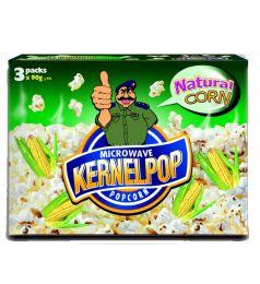 Kernel Pop - Natural Corn (90G) - 3 Pack Set