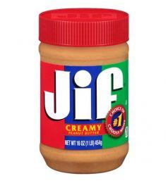 Jif Creamy Peanut Butter (454gm)