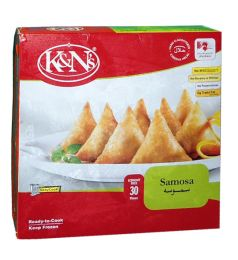 K&n's Chicken Samosa Economy Pack (30 Pieces)