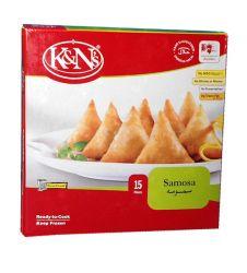 K&n's Chicken Samosa Standard Pack (15 Pieces)