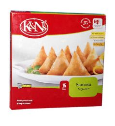 K&n's Chicken Samosa Standard Pack (15 Pieces)