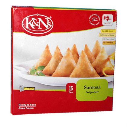 K&n s Chicken Samosa Standard Pack (15 Pieces)