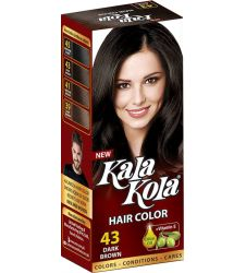 Kala Kola Hair Colour - Dark Brown 43