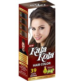 Kala Kola Hair Colour - Light Brown 39