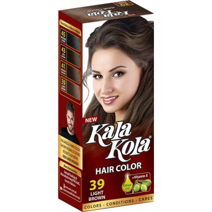 Kala Kola Hair Colour - Light Brown 39