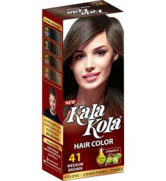 Kala Kola Hair Colour - Medium Brown 41
