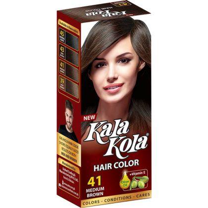 Kala Kola Hair Colour - Medium Brown 41