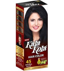 Kala Kola Hair Colour - Natural Black 45