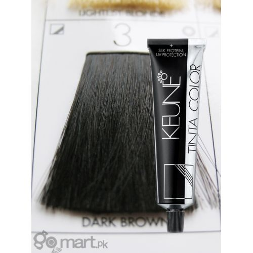 Keune Tinta Color Dark Brown 3 Hair Color Dye Gomart Pk
