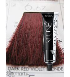Keune Tinta Color Dark Red Violet Blonde 6.67
