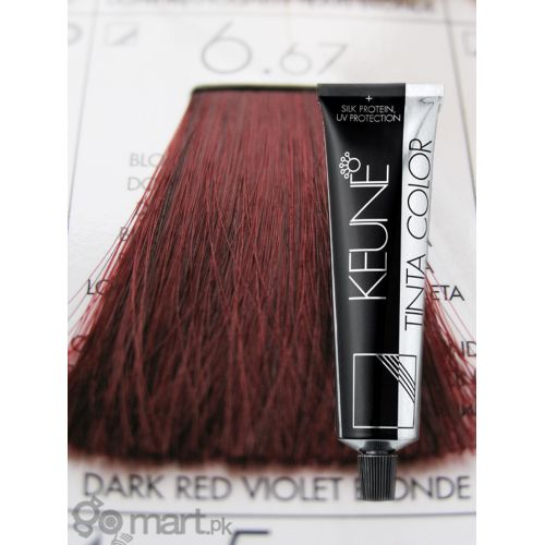 Keune Tinta Color Dark Red Violet Blonde 6 67 Hair Color