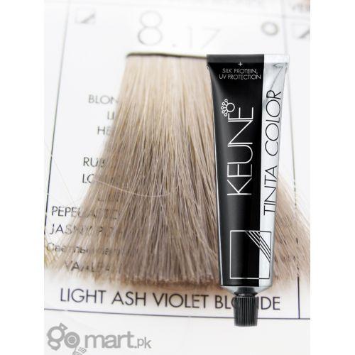 Keune Tinta Color Light Ash Violet Blonde 8 17 Hair