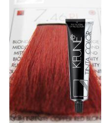 Keune Tinta Color Medium Infinity Copper Red Blonde Ri 7.46