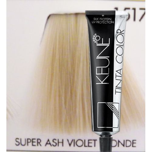 Keune Tinta Color Super Ash Violet Blonde 1517  Hair Color Amp Dye  Gomar