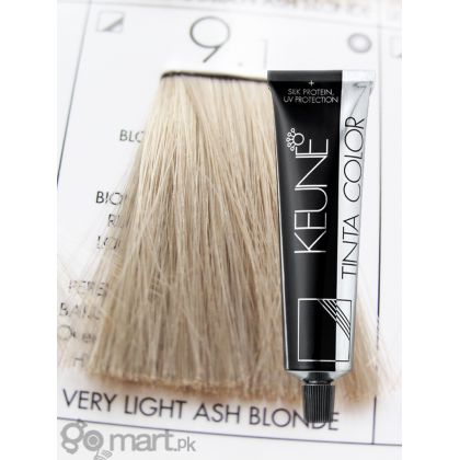 Keune Tinta Color Very Light Ash Blonde 91  Hair Color Amp Dye  Gomartpk