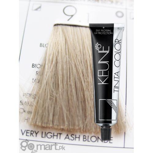 Keune Tinta Color Very Light Ash Blonde 9 1 Hair Color