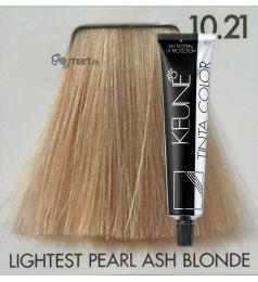 Keune Tinta Color Very Lightest Pearl Ash Blonde 10.21