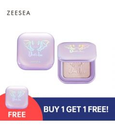 ZEESEA x The British Museum Angel Cupid Collection 2 Colours Brighten Highlighter Palette Waterproof Long Lasting Cosmetics