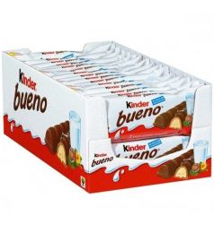 Kinder Bueno With Milk & Hazelnut Box (30x43gm)