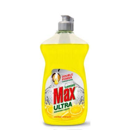 Lemon Max Ultra Dishwash Liquid (yellow)