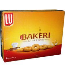 Lu Bakeri Butter Cookies (6 Half Roll Box)