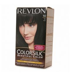 Revlon Colorsilk Hair Color Dye - Black 10