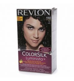 Revlon ColorSilk Luminista Hair Color Dye - Black 110