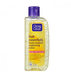 Clean & Clear Fruit Essentials Facial Cleanser Brightening Lemon 100ml