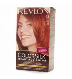 Revlon Colorsilk Hair Color Dye - Bright Auburn 45