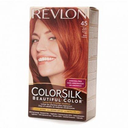 cc6d307d92a Revlon Colorsilk Hair Color Dye - Bright Auburn 45 - Hair Color   Dye