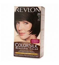Revlon Colorsilk Hair Color Dye - Brown Black 20